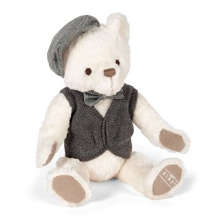 peluche oso gris my