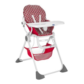 silla lunch red