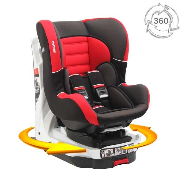 83cde8791 Silla de Auto Convertible Revo 360 isofix Bebesit- roja